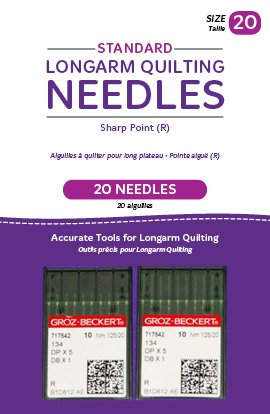 (Handi Quilter Longarm Quilting Needles - Standard Sharp Point (R) Size 20 (Pack of 20))