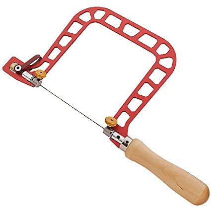 Knew concepts 5 woodworker fret saw handsaws amazon knew concepts 5quot woodworker fret saw greentooth Image collections