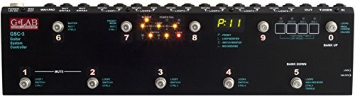 G-Lab GLA-GSC-3 Electric Guitar Amplifier Footswitch by G Lab