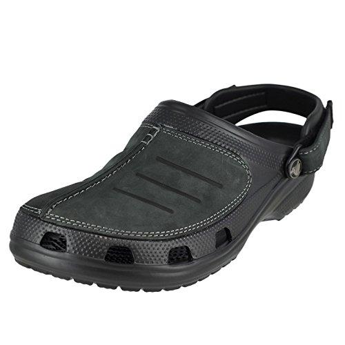 Crocs Men's Yukon Mesa Clog M Mule, Black/Black, 11 M US -