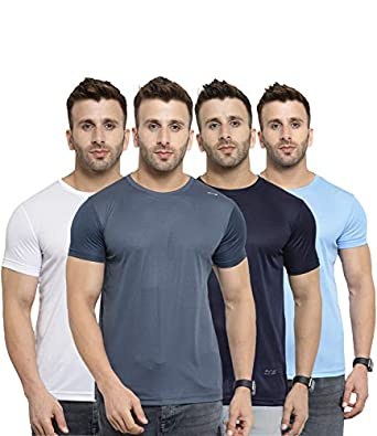 AWG - All Weather Gear Men's Regular Fit T-shirt (Set of 4)