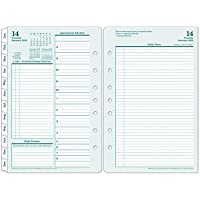 FranklinCovey Classic Original Daily Ring-Bound Planner - Jan 2020 - Dec 2020