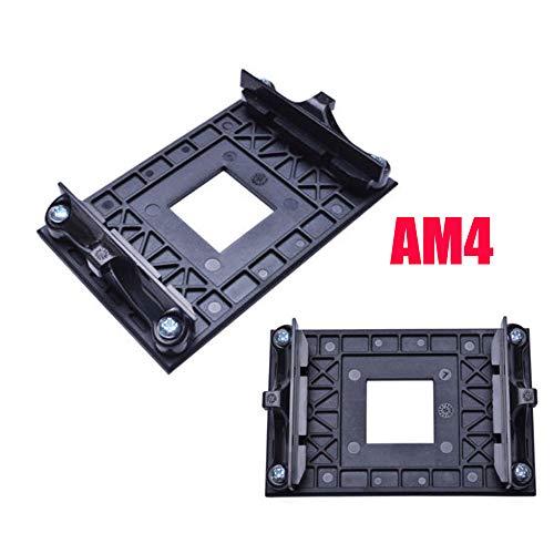 CPU Socket Mount Cool Fan Heatsink Bracket Dock Base for AMD AM4 B350 X370 A320 X470 (2-Pack) ()