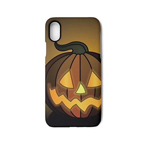 Hiunisyue iPhone X Case Happy Halloween Pumpkin 1-01 Shock Absorption Technology Bumper Soft TPU Cover Case for iPhone X]()