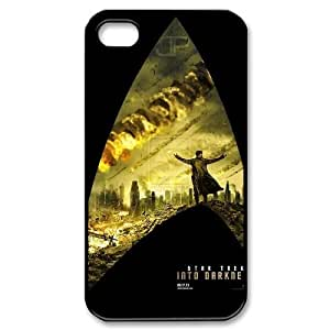 WEUKK Star Trek Into Darkness iPhone 4,4S,4G case cover, personalized cover case for iPhone 4,4S,4G Star Trek Into Darkness, personalized Star Trek Into Darkness cell phone case