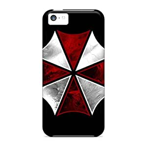 Awesome Umbrella Flip Cases With Fashion Design For Iphone 5c