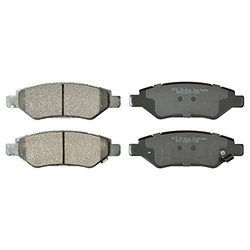 KFE Ultra Quiet Advanced KFE1337-104 Premium Ceramic REAR Brake Pad Set