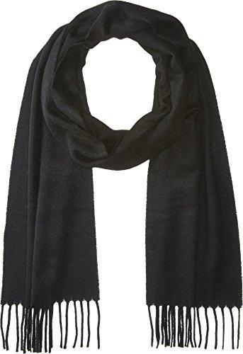 Eton Unisex Cashmere Scarf Black One Size by Eton