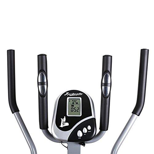 Klarfit ORBIFIT ADVANCED elíptica y # x2022; Monitor de frecuencia cardíaca integrado y # x2022; Resistencia ajustable ordenador de entrenamiento y # x2022; ...