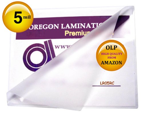 Letter Laminating Pouches 5 Mil 9 x 11-1/2 Hot Qty 100 100 Hot Laminating Pouches