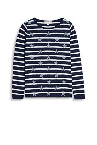 ESPRIT, Suéter para Mujer Multicolor (Navy 2)