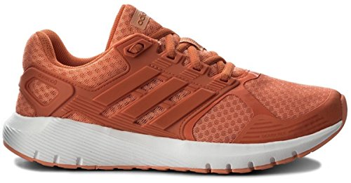 Adidas Womens Duramo Shoe - adidas Women's Duramo 8 W Running Shoe, Chalk Coral S18/Trace Orange S18/Trace Orange S18, (7 B(M) US, Chalk Coral S18/TRACE Orange S18/TRACE Orange S18)