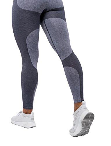 SEASUM Women Seamless Leggings Sports Gym Yoga Workout High Waist Strechy Running Pants Fitness Printed Tights