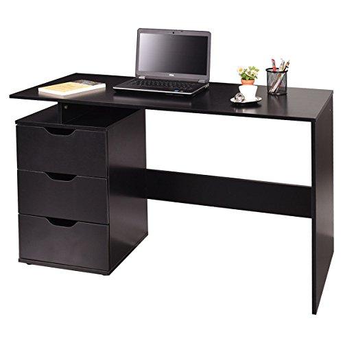 Offer Cheap Tangkula Computer Desk Wooden Laptop Work