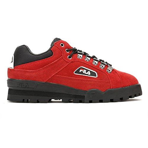 Fila Sh40280.603 Fila Trailblazer Suede Pompein Red Black White