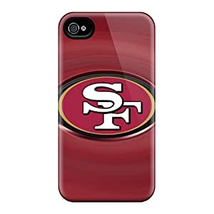 Tpu Shockproof/dirt-proof San Francisco 49ers Covers Cases For Iphone(4/4s)