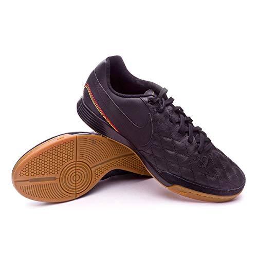 meet e4202 2a9ae Nike Tiempo Ligera IV 10R IC Ronaldhino Soccer Shoes Black Gold SZ 8  (AQ2202-007)