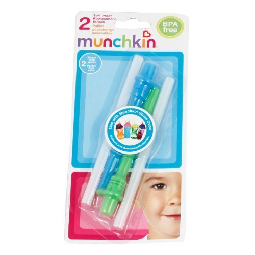 Replacement Spill-Proof Straws - 2pk by munchkin
