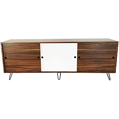 Endure Furniture Mid Century Modern Rosewood Eames Inspired Credenza Entertainment Center