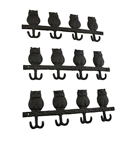 perched-owls-rustic-cast-iron-wall-hook-set-of-3
