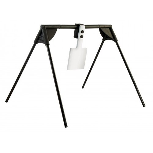 Collapsible Target Stand - Caldwell Magnum Rifle Swinger with Collapsible Design and AR500 Steel Construction for Outdoor, Range, Shooting and Hunting
