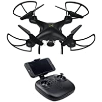 Gbell RC Aircraft Foldable Quadcopter RC Drone Wide Angle Lens 720P HD Camera WiFi FPV 1600Mah Battery for Kids,Adults