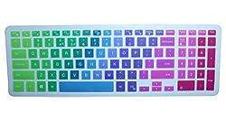 """Keyboard Cover For 15.6"""" Dell Inspiron 15 I7559, Inspiron 15 3000 5000 I3541 15-3542 I3543 I3551 I3552 I3558 I3559 15-5545 I5547 I5548 I5555 I5558 I5559 15-7559 17-5748 17-5749 17-5758(rainbow)"""