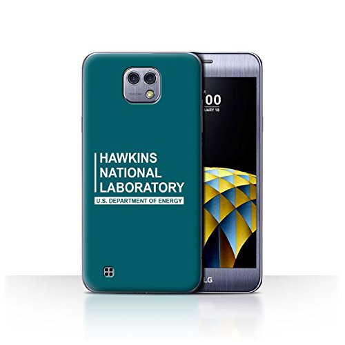 Hopper Cam (STUFF4 Phone Case / Cover for LG X Cam/K580 / Teal Design / Hawkins National Laboratory Collection)