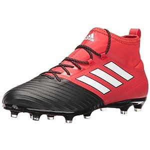 adidas Men's Ace 17.2 Primemesh FG Soccer Shoe, Red/White/Black, (9 M US)