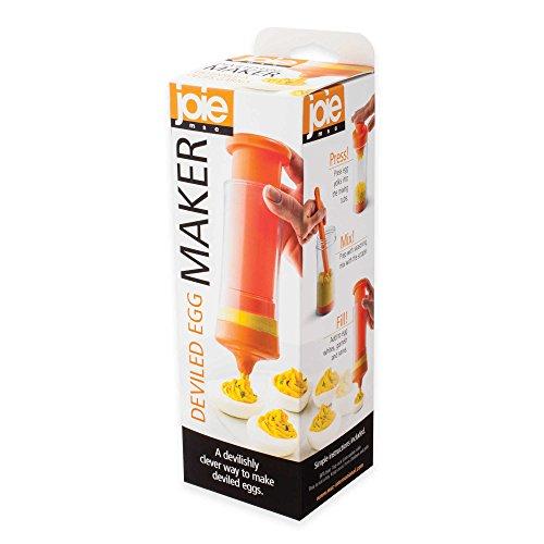 MSC International Joie 7 Piece Egg Maker for Mashing Yolks and Filling Deviled Eggs