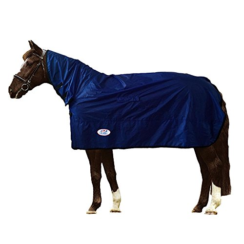 Derby Breathable Light Weight Horse Rain Sheet with Neck ...