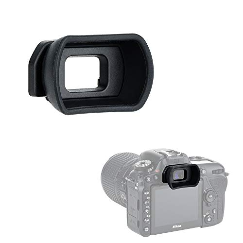 Kiwifotos Long Soft Viewfinder Eyecup Eyepiece for Nikon D750 D610 D600 D7500 D7200 D7100 D7000 D5200 D5100 D5000 D3500 D3400 D3300 D3200 D3100 D3000 D300s D300 and More from KIWIfotos