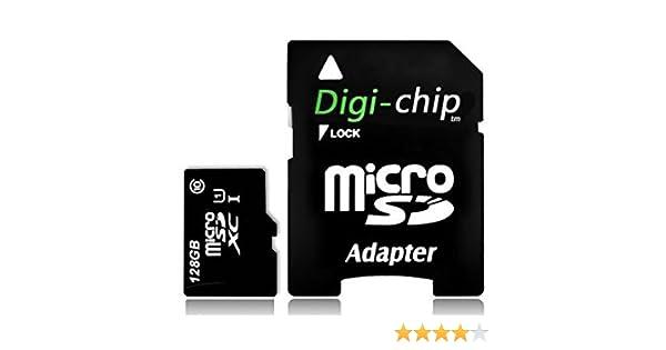 Digi Chip 128GB Micro-SD Memory Card for Samsung Galaxy S8, Samsung Galaxy S8+, S8 Plus Smartphones
