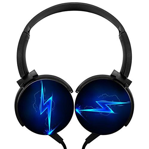 Wml Flash Fashion Subwoofer Stereo Headphone Lightweight Headset Earphone