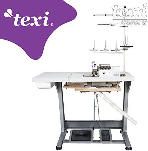 TEXI Overlock 5 Hilos/2 Aguja de la Industria de Coser – con ...