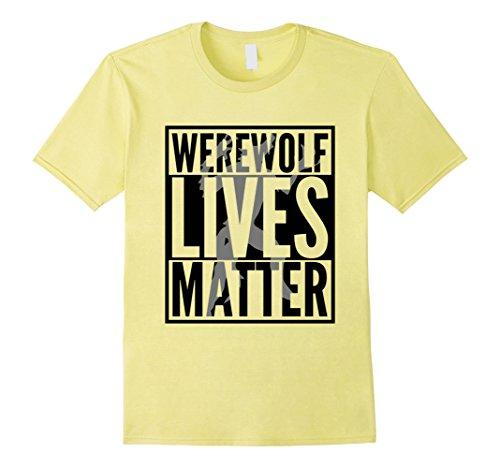 Funny Halloween Ideas For Men (Mens Funny Halloween Costume Ideas 2017 Werewolf Shirt XL Lemon)