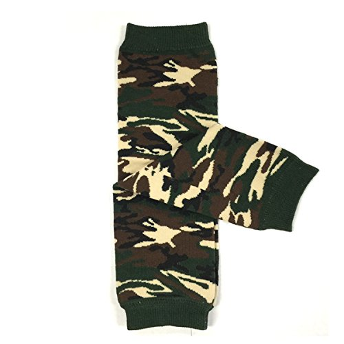 Wrapables Animals and Fun Colorful Baby Leg Warmers - (Camo Babylegs)