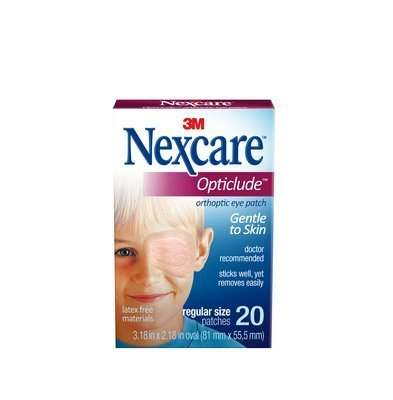 Nexcare Opticlude Orthoptic Eye Patches Regular 20 Each (Pack of 36) by Nexcare