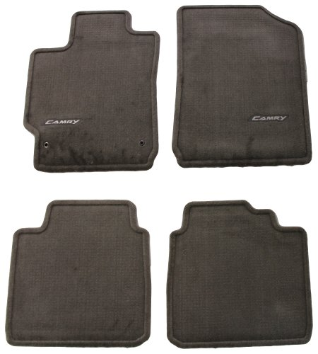 - Genuine Toyota Accessories PT206-32100-45 Custom Fit Carpet Floor Mat - (Brown)