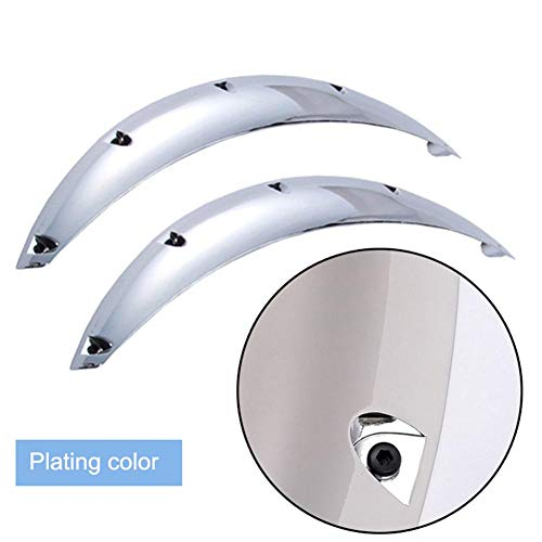 Supicity 2 Pcs Car Universal Flexible Fender Flares Fender Protectors Extra Wide Wheel Arches,22.8inch Thrifty Pleasant
