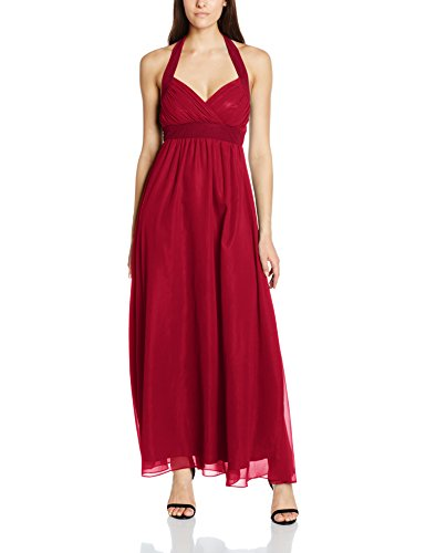 MY EVENING DRESS Lizzie, Vestido para Mujer Red (Burgundy E)