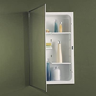 Jensen Medicine Cabinet Modular Shelf 16W x 26H in. Recessed Medicine Cabinet 468MOD