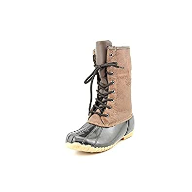 Amazon.com | Sporto Womens Daphne Duck Boot, Brown, 8 | Boots