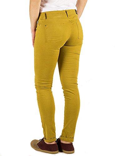 mostaza Para Pantalones Hardy Capitán Denim Amarillo Mujer xnAUYw