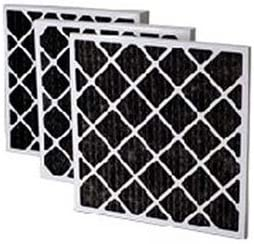Filtration Manufacturing 02OS-20254 Charcoal Pleated Air Filter 20 W x 25 H x 4 D Lot of 6