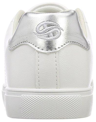 Damen Silber 550 Sneaker Braun Dockers 38pd205 610550 Gerli by xF0nxqwvg