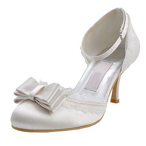 Escarpins 7 pour Heel Minitoo femme White 5cm ABCWqS