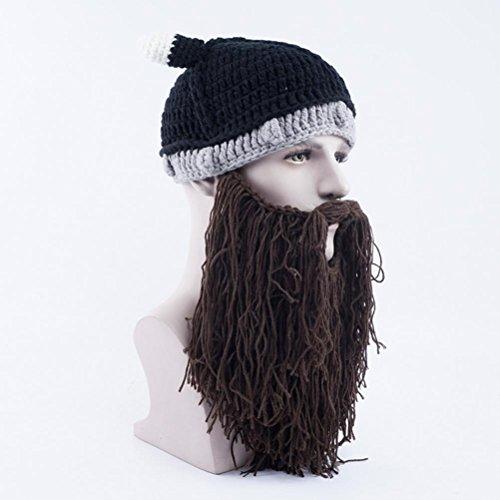 Punto Gracioso Gorras De Unisex Halloween Vagabond Bearded Brown Gorros Gorras Invierno Beanie Sombreros g1qX4wr1