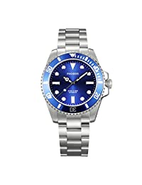 PHOIBOS GREAT WHITE PY006B 300M Automatic Diver Watch Blue