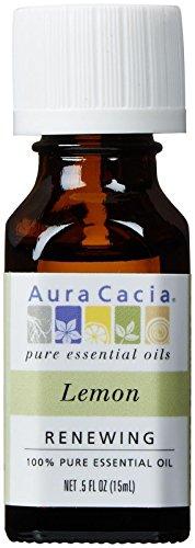Aura Cacia 100% Pure Essential Oils - Lemon - 0.5 oz